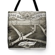 Baseball Polka, 1867 Tote Bag by Granger