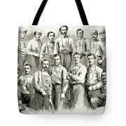 Baseball Teams, 1866 Tote Bag by Granger