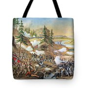 Battle Of Chattanooga 1863 Tote Bag by Granger