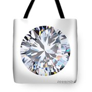 brilliant diamond Tote Bag by Setsiri Silapasuwanchai