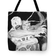 Bulls Celebration Tote Bag by Tamir Barkan
