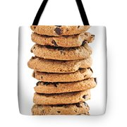 Chocolate Chip Cookies Tote Bag by Elena Elisseeva