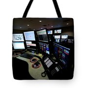 Control Room Center For Emergency Tote Bag by Terry Moore
