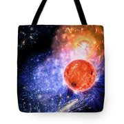 Cosmic Evolution Tote Bag by Don Dixon