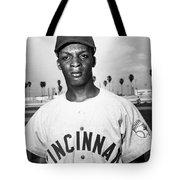 Curt Flood (1938- ) Tote Bag by Granger