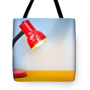 Desk Lamp Tote Bag by Tom Gowanlock