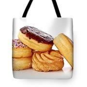 Donuts Tote Bag by Elena Elisseeva