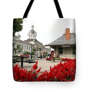 Downtown Kingston Tote Bag by Valentino Visentini