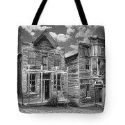 Elkhorn Ghost Town Public Halls - Montana Tote Bag by Daniel Hagerman