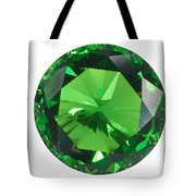 Emerald Isolated Tote Bag by Atiketta Sangasaeng