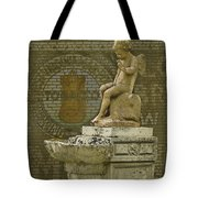 Even Angels Need A Smoke Tote Bag by Ron Jones