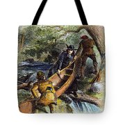 Father Jacques Marquette Tote Bag by Granger