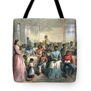 FREEDMENS SCHOOL, 1866 Tote Bag by Granger