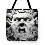 Gargoyle Tote Bag by Simon Marsden