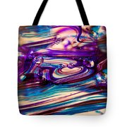 Glass Macro II Tote Bag by David Patterson