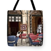 Hanging Out Tote Bag by Madeline Ellis