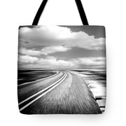Highway Run Tote Bag by Scott Pellegrin