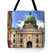 Hofburg Palace - Vienna Tote Bag by Jon Berghoff