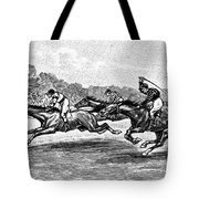 Horse Racing, 1900 Tote Bag by Granger