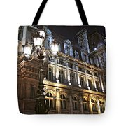Hotel de Ville in Paris Tote Bag by Elena Elisseeva
