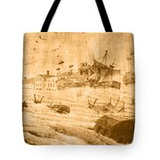 Hurricane, 1815 Tote Bag by Science Source