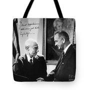 J. Robert Oppenheimer Tote Bag by Granger