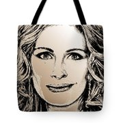 Julia Roberts In 2008 Tote Bag by J McCombie