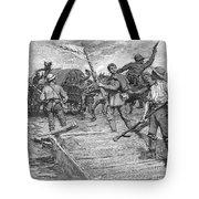 Kansas: Border Ruffians Tote Bag by Granger