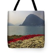 Lake Lugano - Monte Salvatore Tote Bag by Joana Kruse