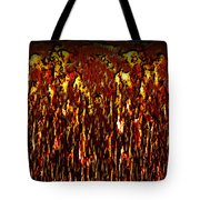 Lava And Brimstone Tote Bag by Christopher Gaston