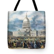 Lincoln Inauguration, 1865 Tote Bag by Granger