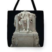 Lincoln Memorial: Statue Tote Bag by Granger