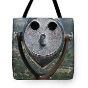 Look Into My Eyes Tote Bag by Ernie Echols