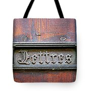 Love Letters Tote Bag by Nomad Art And  Design