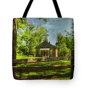 Lutz-franklin Schoolhouse Tote Bag by Paul Ward