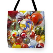 Many Beautiful Marbles Tote Bag by Garry Gay