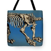 Megatherium Extinct Ground Sloth Tote Bag by Science Source