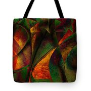 Merging Tote Bag by Amanda Moore