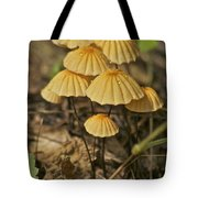 Mushrooms Tote Bag by Michael Peychich