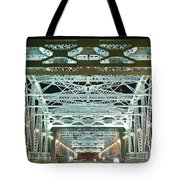Nashville by Night Bridge 2 Tote Bag by Douglas Barnett