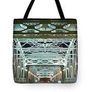 Nashville By Night Bridge 2 Tote Bag by Douglas Barnett