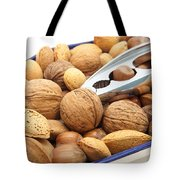 Nuts Tote Bag by Tom Gowanlock