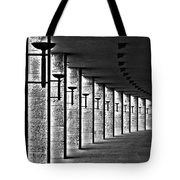 Olympic Stadium Berlin Tote Bag by Juergen Weiss