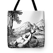 ORDEAL BY WATER Tote Bag by Granger