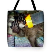 Peek A Boo Tote Bag by Michelle Milano
