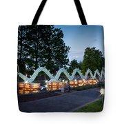Porcelain Dragon Tote Bag by Semmick Photo