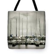 Port On A Rainy Day Tote Bag by Joana Kruse
