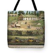 Quaker Meeting, 1811 Tote Bag by Granger