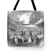 Quaker Meeting, 1843 Tote Bag by Granger