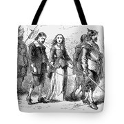 Quakers: Mary Dyer, 1659 Tote Bag by Granger